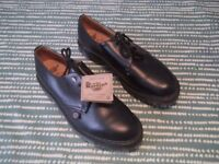 rare dr martens london underground new leather shoes size 9