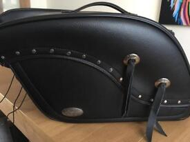 Motorcycle Throw over saddle bags