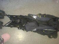 Slivercross pop stroller
