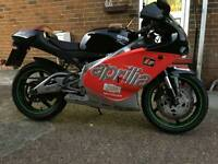 Rs aprllia 125cc very nice motorbike 2001 model