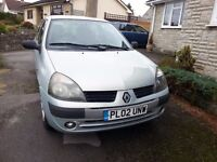 Clio 1.2 Petrol All good except for the air bag warning light.