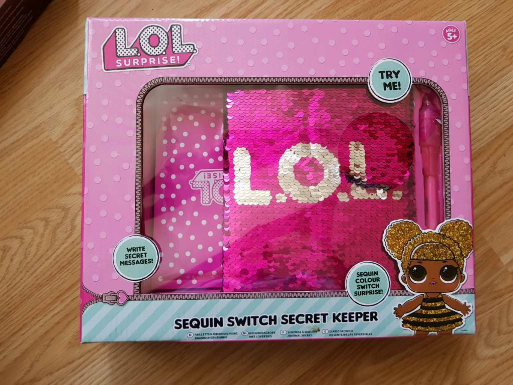 Brand new LOL sequin switch secret keeper | in Blackley, Manchester |  Gumtree