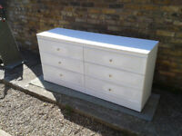 Chest of Drawers 6 draws #FREE LOCAL DELIVERY#