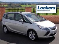 Vauxhall Zafira Tourer EXCLUSIV CDTI ECOFLEX S/S (silver) 2012-12-18