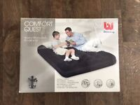 Bestway double air bed with electric pump