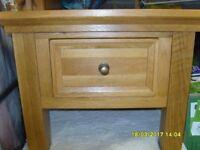 Solid Medium oak coffee table