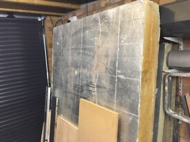 Insulation - recticel - 150mm thick x 1190mm x 1850mm