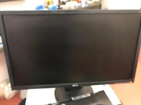 Acer 24 inch wide screen monitor