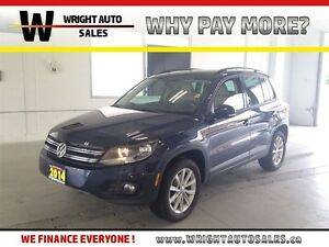2014 Volkswagen Tiguan 2.0 TSI AWD SUNROOF LEATHER 59,043 KMS