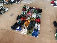 Joblot Wholesale Second Hand Sport Shoes Trainers Sneakers Mix Grade A