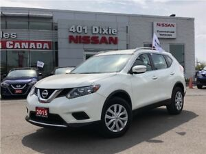 2015 Nissan Rogue S FWD| BACKUP CAMERA| BLUETOOTH| ECO MODE|