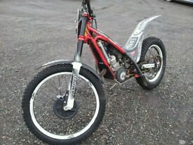 GAS GAS TXT pro racing 300 R trial bike 2014 model