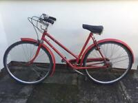 Vintage ladies Hercules 'call the midwife' 1950's bicycle and gents 1960's bicycle