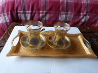5 piece Turkish Tea Set
