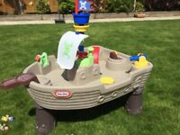 Little Tikes Anchors Away Pirate Ship water toy - used