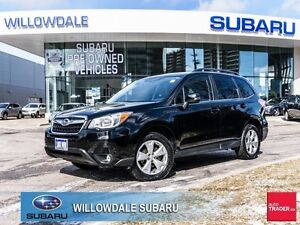 2014 Subaru Forester 2.5i Limited PKG No Accidents, Off Lease