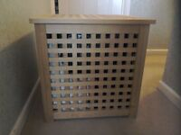Ikea wooden storage box - Hol Acacia