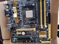 Selling pc mobo and cpu top condition working good price!!