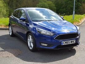 Now Reduced by £1,000~ 2015 65 Ford FOCUS Zetec 1.5 TDCi, One Owner, Warranty to 2018. Zero Rd Tax.