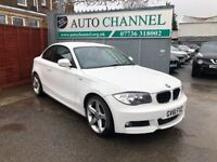 BMW 1 Series 2.0 118d M Sport 2dr£6,995 p/x welcome 1 YEAR FREE WARRANTY. NEW MOT