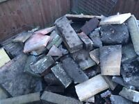 Rubble, Hardcore and Paving Slabs - FREE FOR COLLECTION