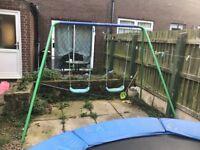Kids double swing for sale