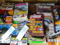 job lot top gear magazines large amount 100 collect aberbargoed carboot items
