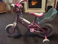 Girl's first bike