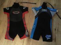 Children's kids shortie wetsuit (2 available)
