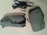2 KARRIMOR SIDE POCKETS FOR RUCK SACK ADD EXTRA CAPACITY TO YOUR RUCK SACK