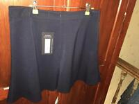 Ladies navy skirt M&S size 14