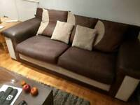 "3 seater couch & 360"" chair"