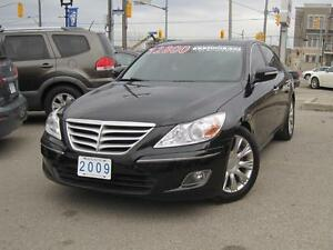 2009 HYUNDAI GENESIS PREMIUM PKG | Leather • Roof