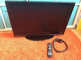 "26"" lcd Tv built in freeview and Dvd with remote"