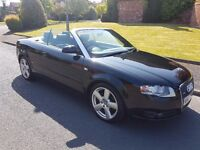 IMMACULATE AUDI A4 CABRIOLET S LINE FOR SALE