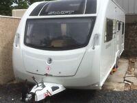 Caravan Swift sprite quattro fb 2014