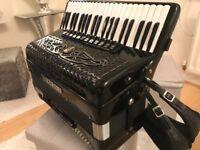 guerrini superior 4 accordion hand made cassotto musette