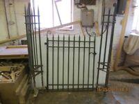 Edwardian cast iron gate/