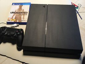 Ps4 with 5 games including GTA V