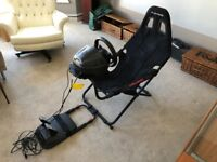 Playseat Challenge Gaming Chair Seat PS4/PS3/Xbox 360/Xbox One/PC boxed