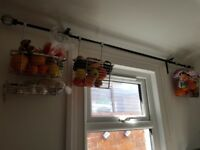 Hanging basket, Kitchen, bathroom metall