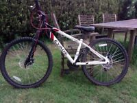 Mountain Bike Boys - Apollo Evade - 21 Gears -Disc Breaks -Want £ 75 ( New £ 175 )