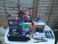 APM 2,6 PROFESSIONAL QUADKOPTER WITH FPV SISTEM 1.2Ghz