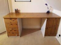 IKEA Dark Oak Desk
