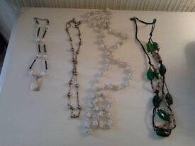 necklaces x 4