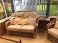 Double and single conservatory seats.