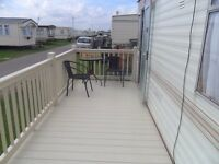 Caravan full length decking for sale excellent condition. Fitrite installed by Hallmark Decking.