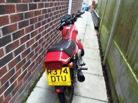 125cc motorcycle for sale.