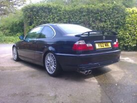 bmw e46 330ci manual trackday car road legal.