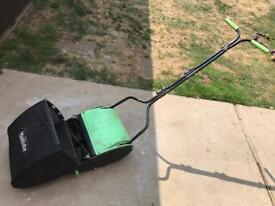 Cylinder push mower